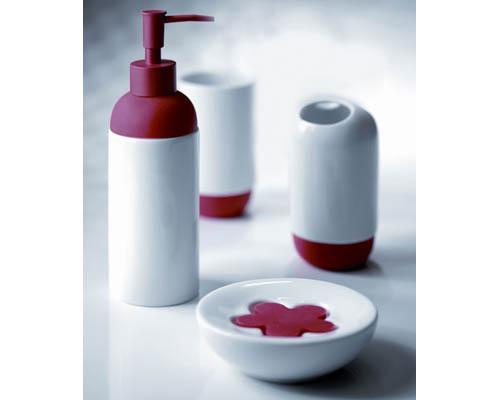 Kit para banheiro Bombai Rojo
