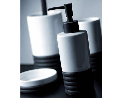 Kit para banheiro Spazio Negro